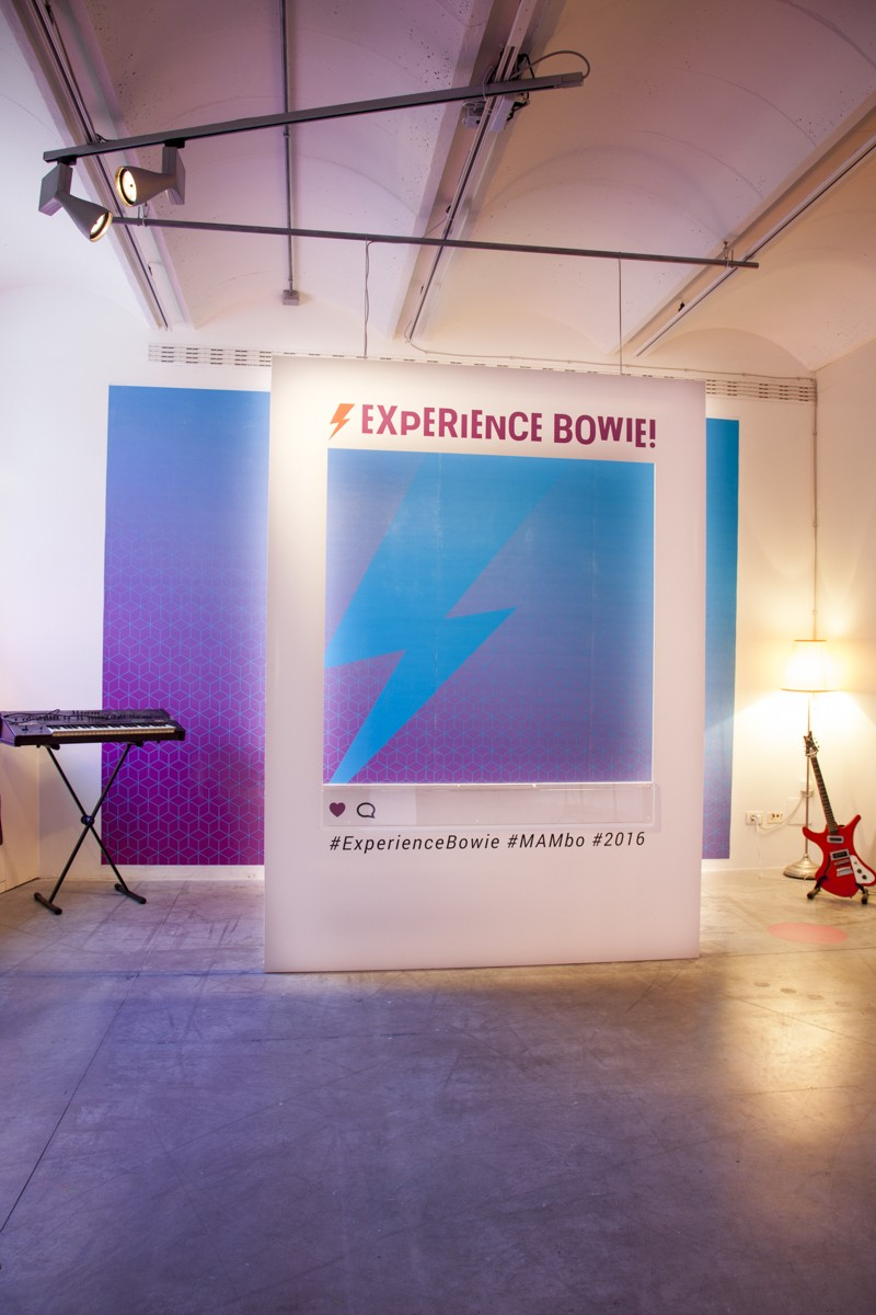 www.experiencebowie.it // Experience Bowie ! // MAMbo